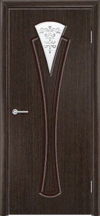 Межкомнатная дверь Флора (Шпон Fine-line)